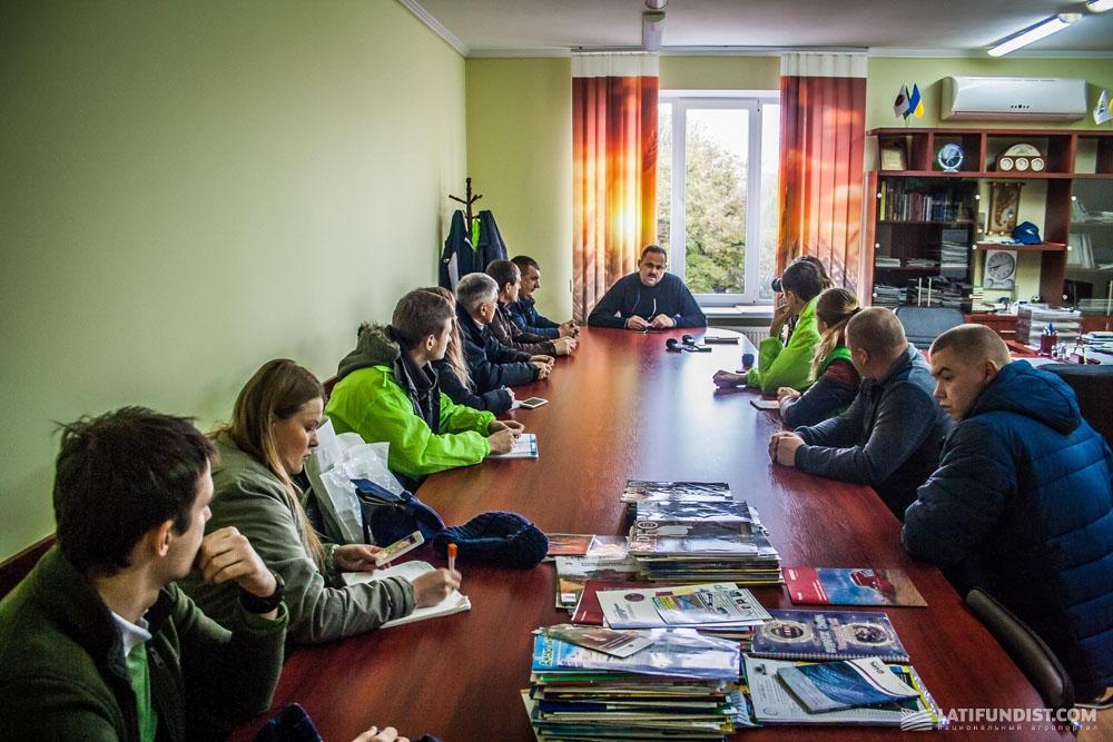 АгроЭкспедиторы с Александром Каминским за беседой